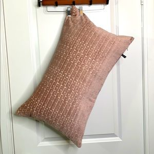 Pink Decorative Accent Throw Down Pillow